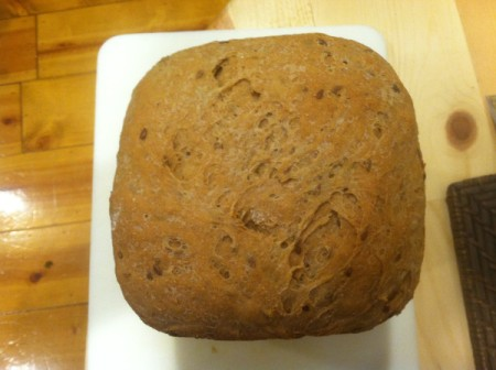 Whole Wheat Bread (Bread Machine) - bread loaf