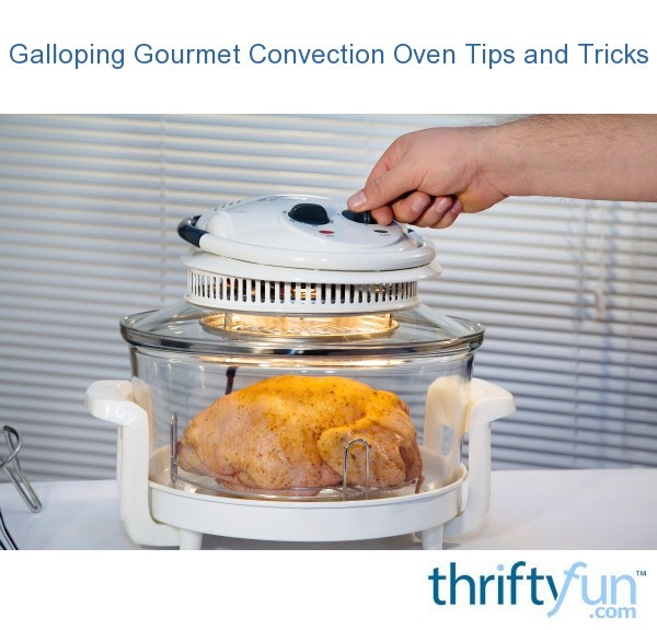 Galloping Gourmet Convection Oven Tips And Tricks Thriftyfun