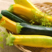 Yellow and green summer squash