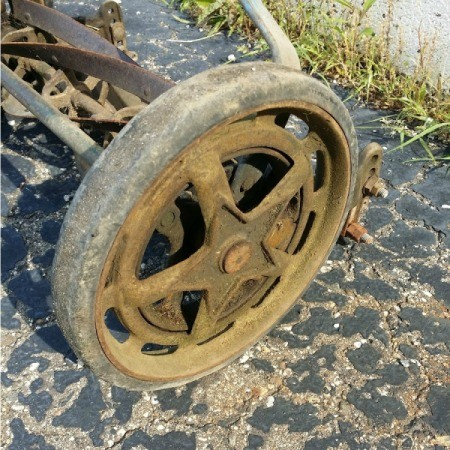 Kennedy's Rubberset Reel Mower