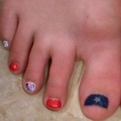 July 4th Nail Polish Idea