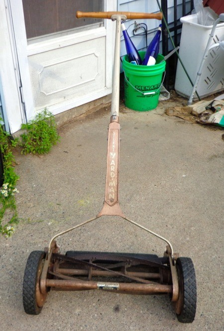 Value of Vintage Reel Mower