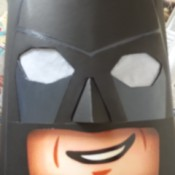 Lego Batman Cosplay - Head and Cape