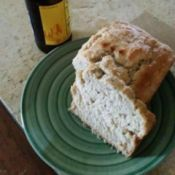 beer bread on plate