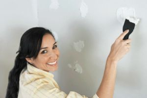 woman sparkling wall