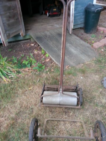 Value of a Pennsylvania Super Reel Mower