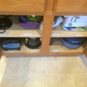 Storing Appliances in Cabinets