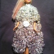 Barbie's Crochet Winter Cloak