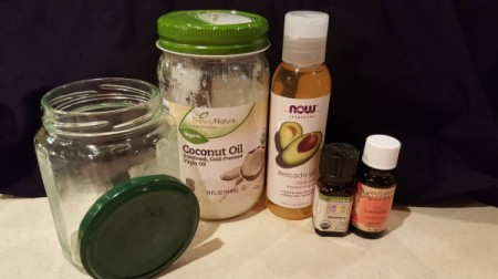 Coconut Oil Conditioner - ingredients