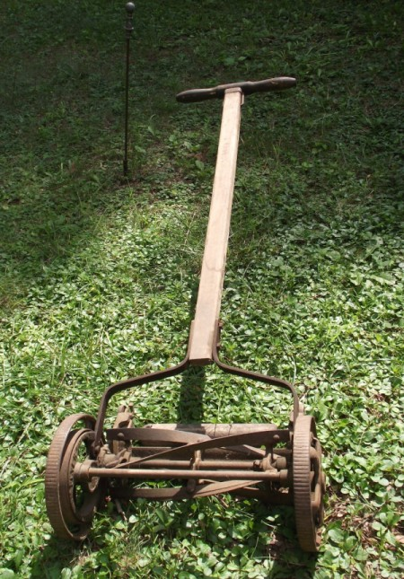 Value of Antique Reel Mower