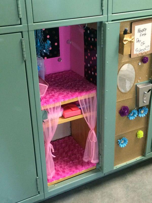 Wooden Locker Shelves - Making Wooden Locker Shelves ThriftyFun