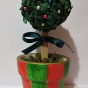 Christmas Topiary Tree