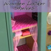 Making Wooden Locker Shelves