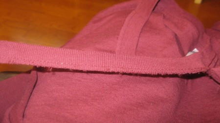 Turning a Crew Neck Shirt into a V-Neck
