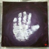 Mini Handprint Canvas