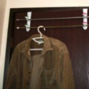 double hooks to hang jackets