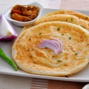 onion roti bread