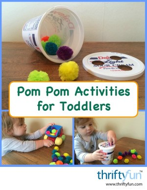 Pom Pom Activities for Toddlers