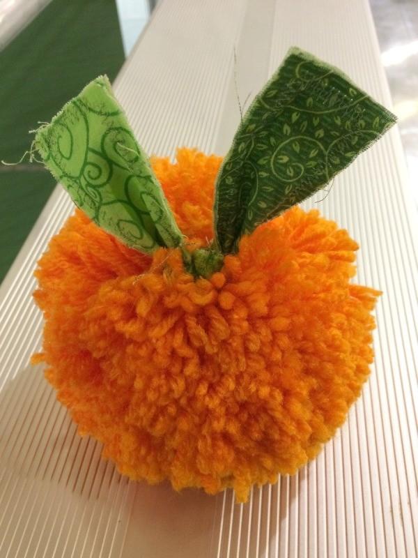 Pom Pom Pumpkin Thriftyfun