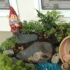 Making a Gnome Garden in a Planter