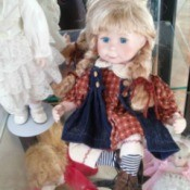 doll with blond braids
