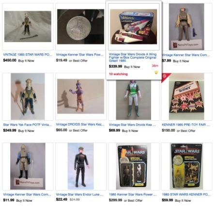 Find the Value of Star Wars Figures