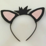 Felt Kitty Ears