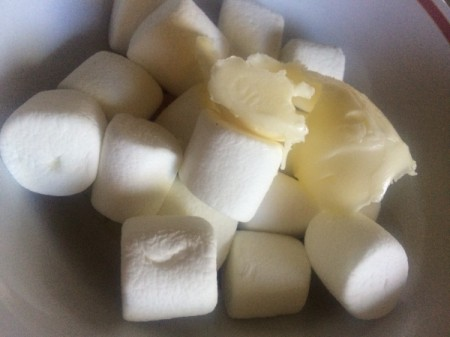 marshmallows & butter