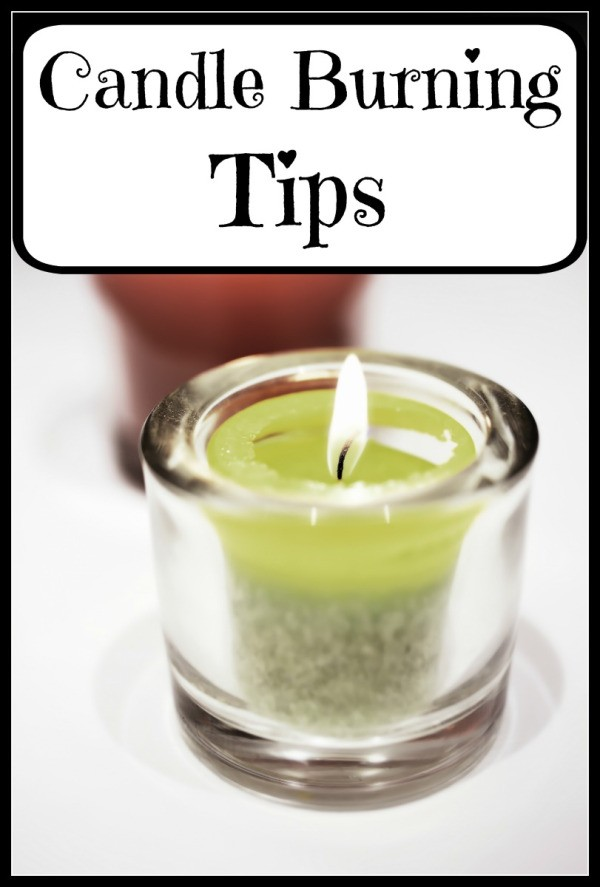 Candle Burning Tips