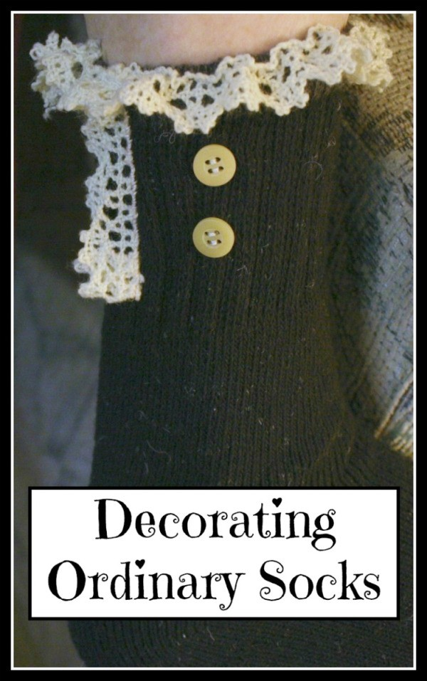 Decorating Ordinary Socks