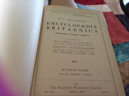 Value of Volume 8 New American Encyclopedia Britannica