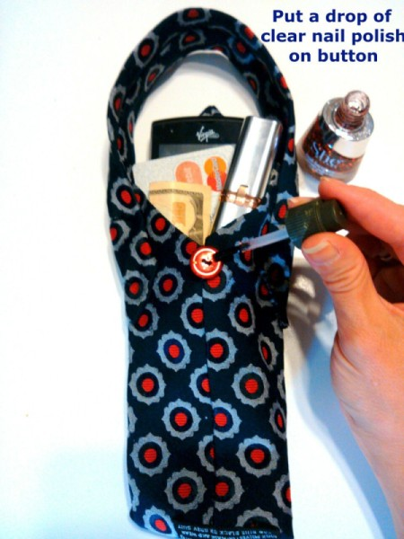Necktie Purse