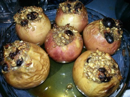 Low-Sugar Baked Apples
