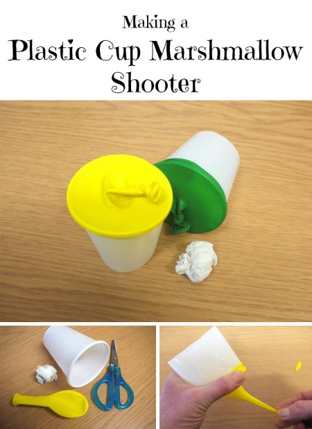 Plastic Cup Marshmallow Shooter