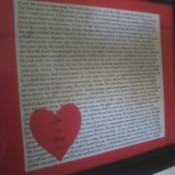 Romantic Framed Wedding Song Lyrics