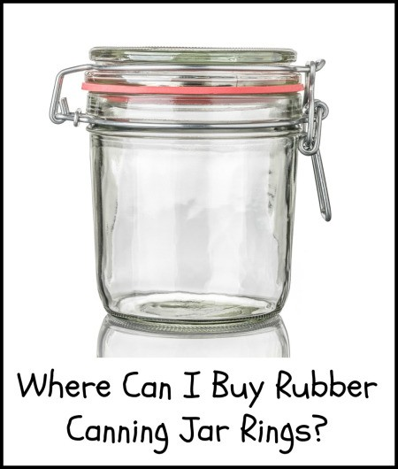 Where Can I Buy Rubber Canning Jar Rings?