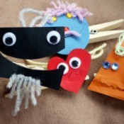 Making Peg (Clothes Pin) Puppets