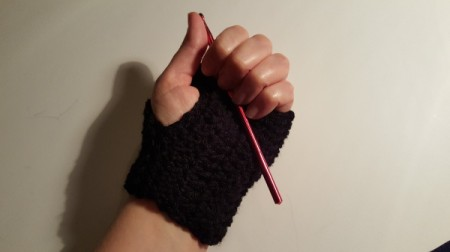 Wrister Fingerless Gloves