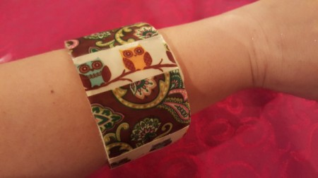 Packaging Tape Cardboard Roll Bangle