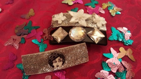 Decorating Dollar Store Barrettes
