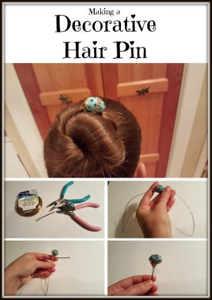 Making a Decorative Hair Pin