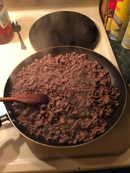 Easily Remove Grease from Ground Beef