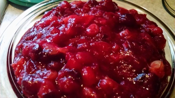 Sugar Free Cranberry Clementine Relish