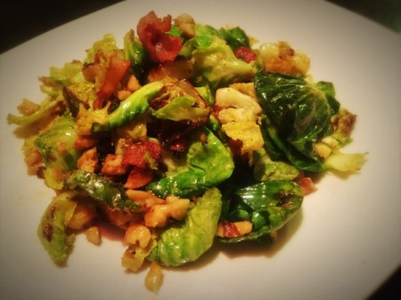 Best Bacon Brussels Sprouts