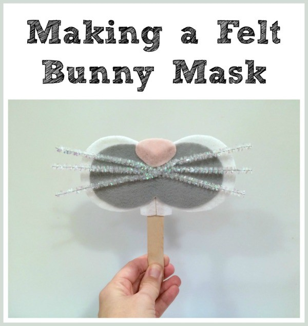 Making a Felt Bunny Mask