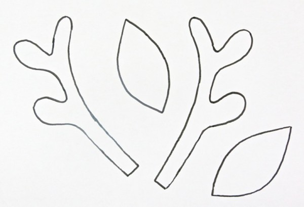 Making a christmas reindeer headband thriftyfun for Rudolph antlers template