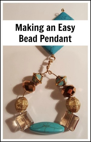 Making an Easy Bead Pendant