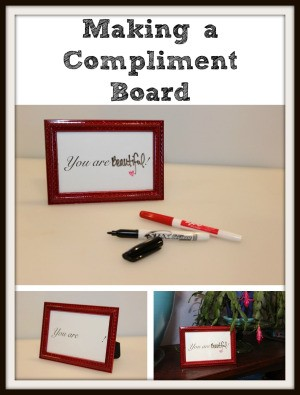 Making a Compliment Board