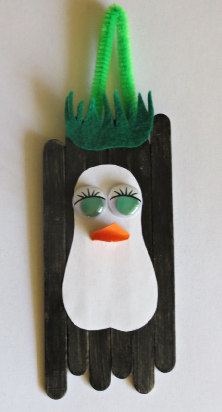 Waddling Penguin Christmas Decoration