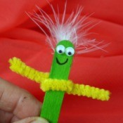 Popsicle Stick Puppet